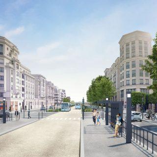 "Station ""Ariane"" avenue Hergé à Chessy"