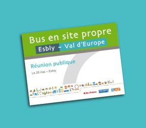 Présentation du projet - Réunion publique d'Esbly